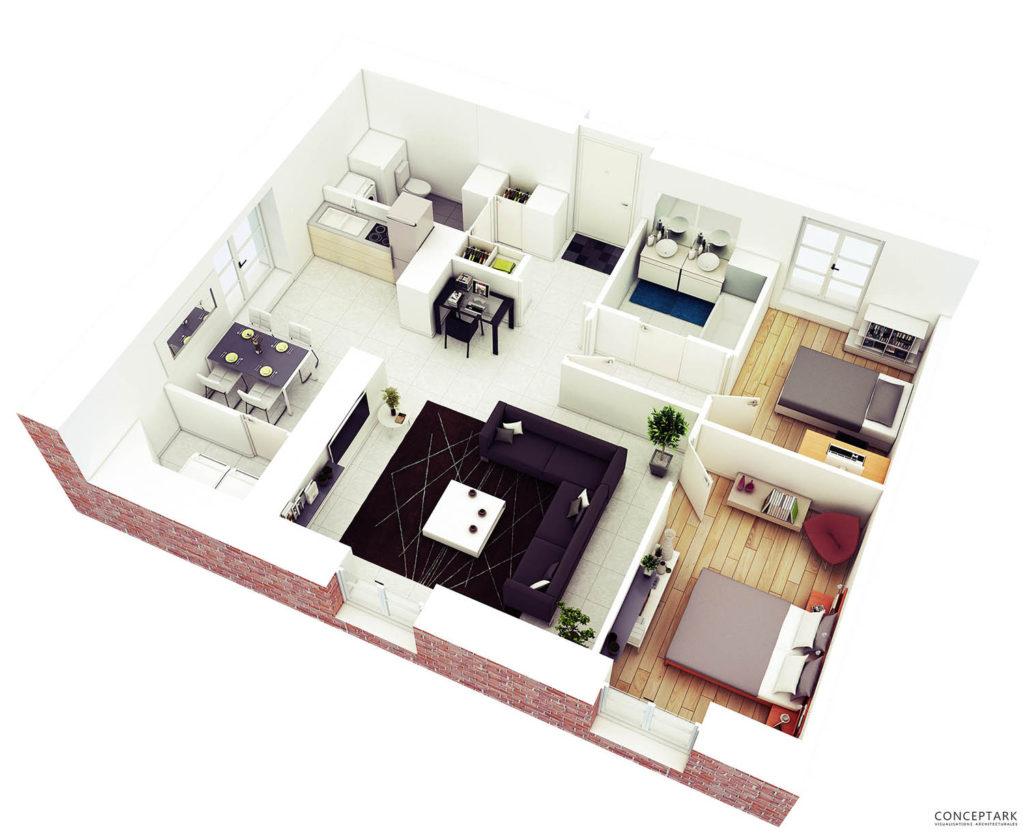 Plan de casa in 3D 13