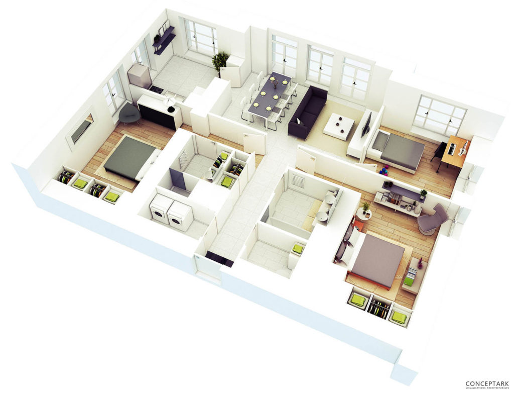 Plan de casa in 3D 14