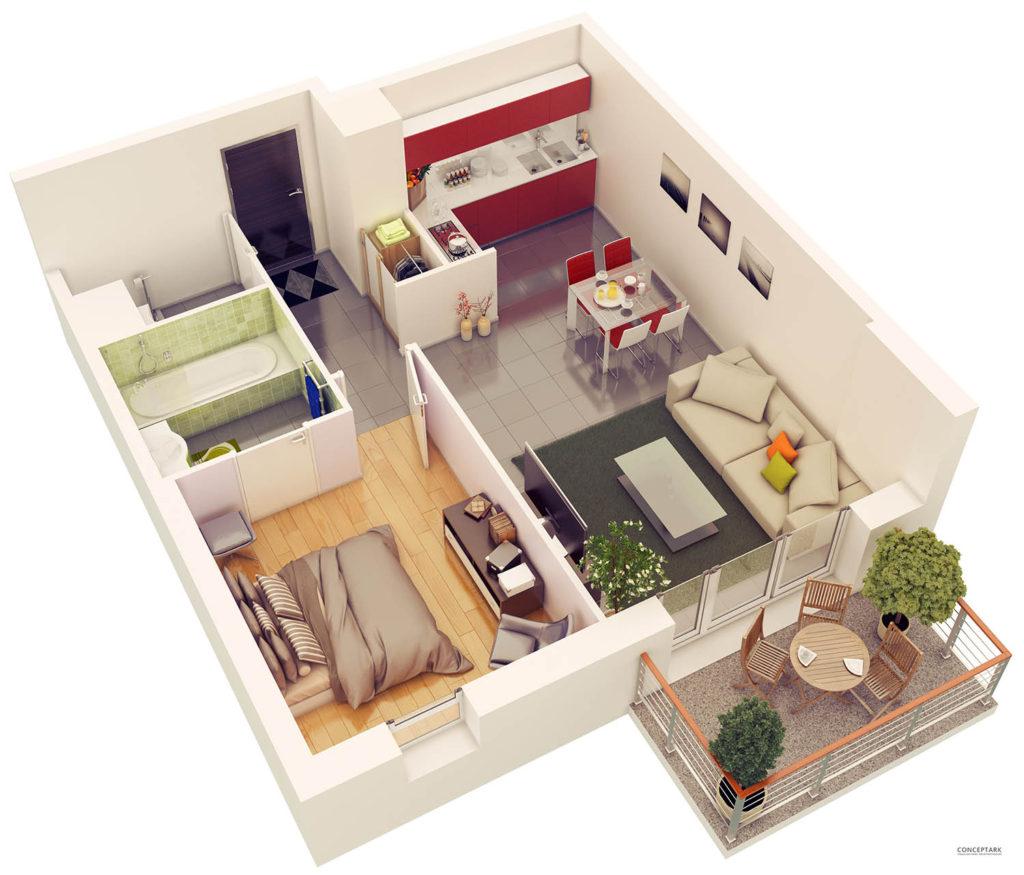 Plan de casa in 3D 19
