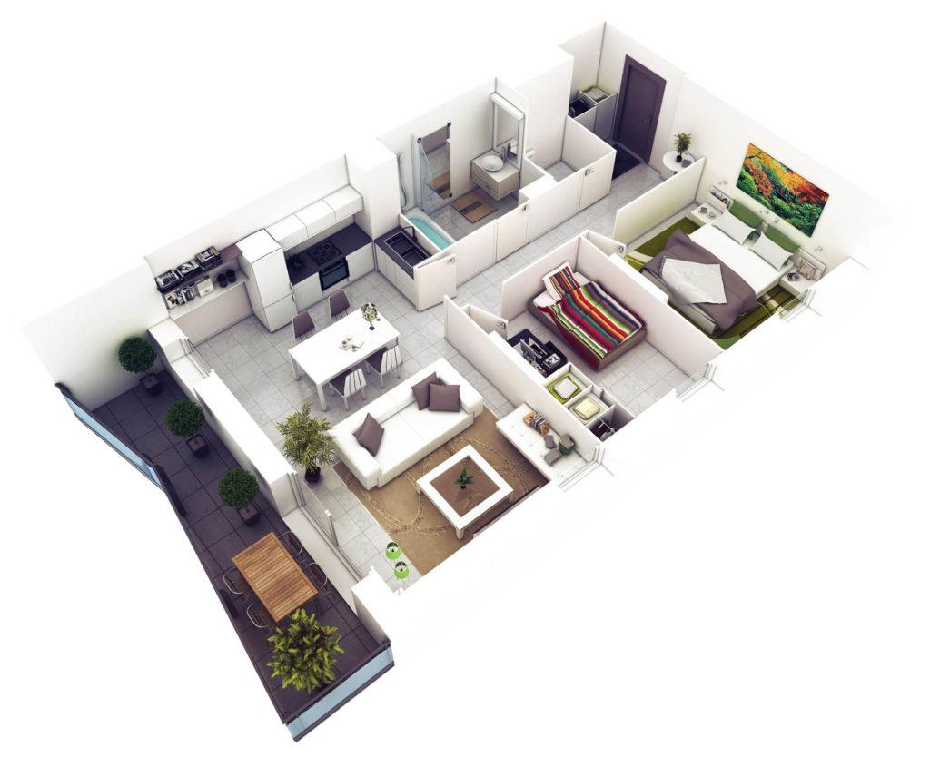 Plan de casa in 3D 5