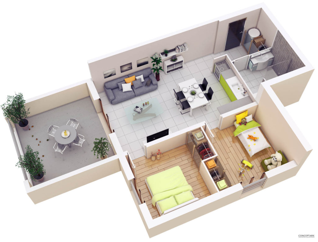 Plan de casa in 3d idei design interior for Planner casa