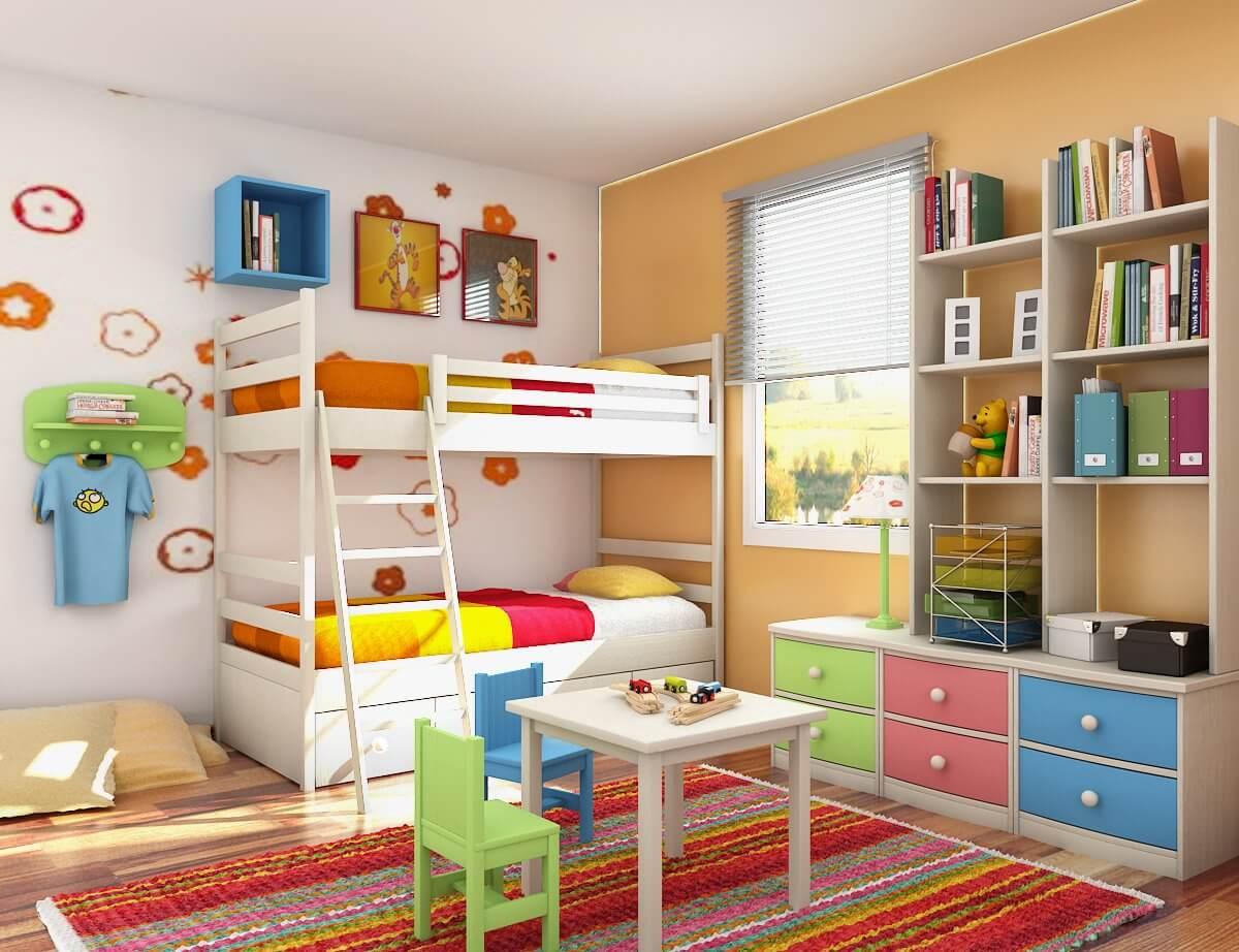 Amenajarea Camerei unui Copil in Crestere