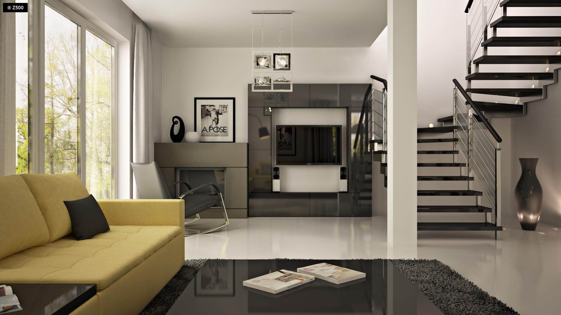 Casa de 117mp cu garaj for Idee design interieur