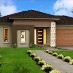 Casa fara etaj moderna cu garaj integrat