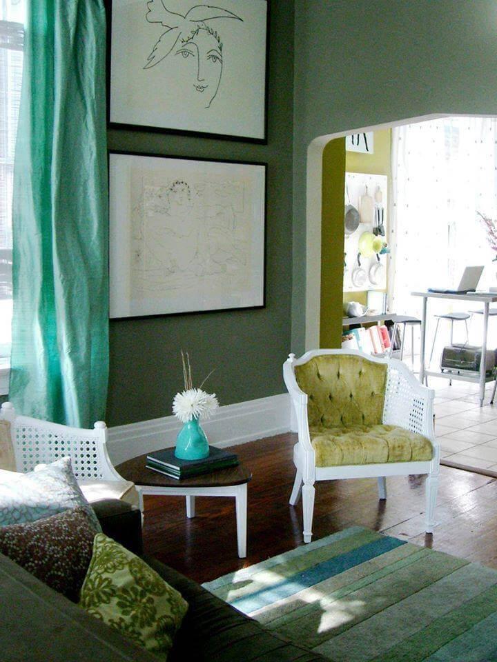 living design pe verde idei design interior