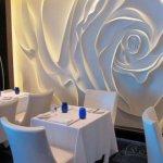 Trandafir mare 3d cu iluminare superioara si laterala