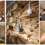 Pereti de accent din lemn