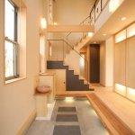 Scara interioara minimala pentru spatiu tip loft