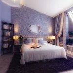 Dormitor lila pentru ziua indragostitilor