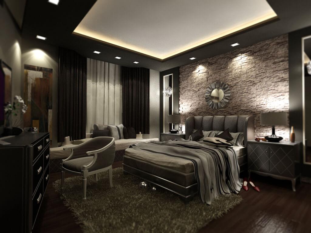 12 dormitoare in stil egiptean idei design interior for Idee design interieur