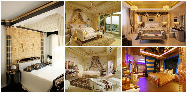 12 Dormitoare in stil Egiptean