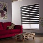 Rolete textile zebra pentru living