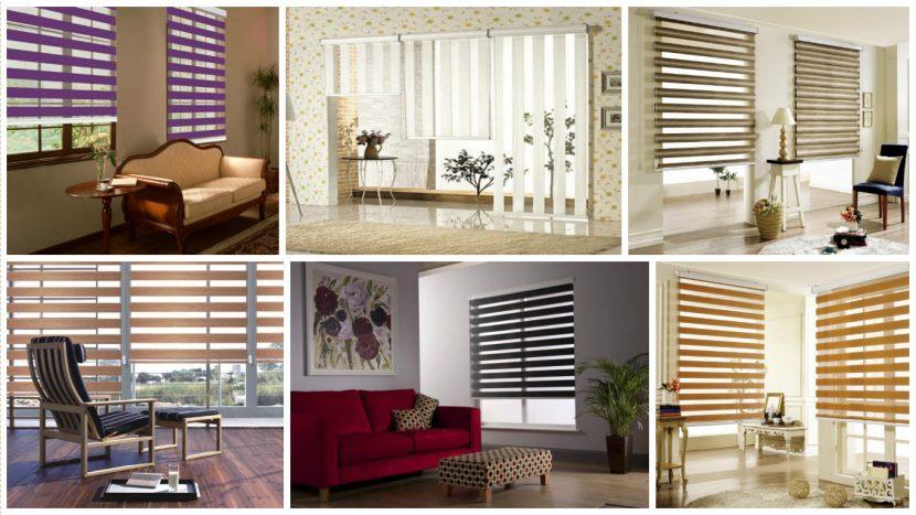 Jaluzele De Ferestre In Forma De Zebra Pentru Camera De Zi Idei Design Interior