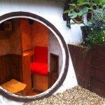 Interior casa de hobbit