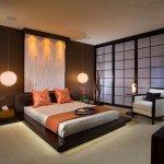 Dormitor feng shui cu vase si plante ornamentale