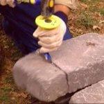 Pregatire pietre pentru gabioane