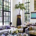 Living cu ferestre inalte