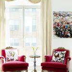Fotolii rosii pentru living