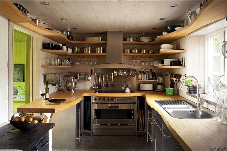 Bucătării mici, dar cu un stil mare