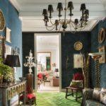 Camera eleganta cu accesorii vintage