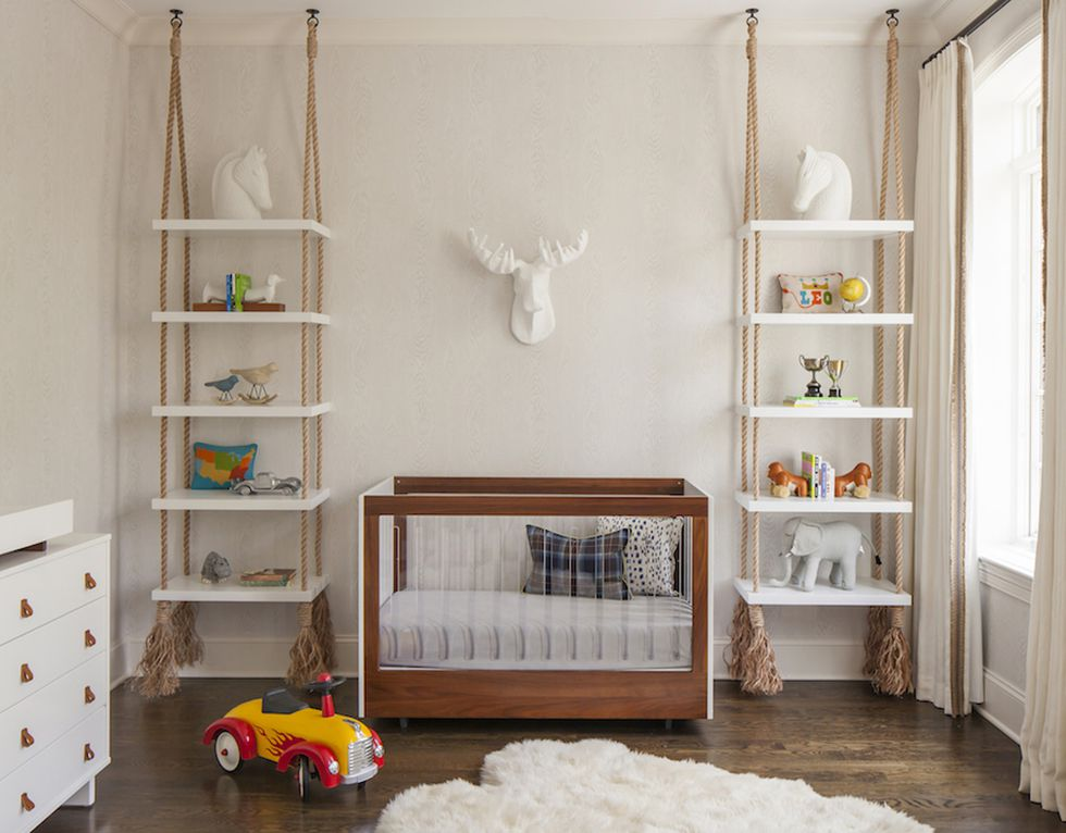 Etajere suspendate pentru camera copii